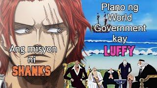 Ang Secret Mission ni Shanks | One Piece | Tagalog Theory