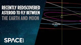 Recently Rediscovered Asteroid To Fly Between Earth and Moon