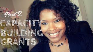 Fundraising Ideas For Non-Profit Organizations: Capacity Buildig Grants