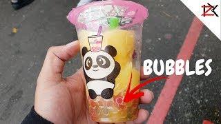 POP IN YOUR MOUTH - Making Bubble Slush/Tea | Mixed Boba Tapioca Balls | Refreshing Drinks