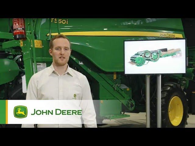 John Deere - Mietitrebbie Serie T - Panoramica