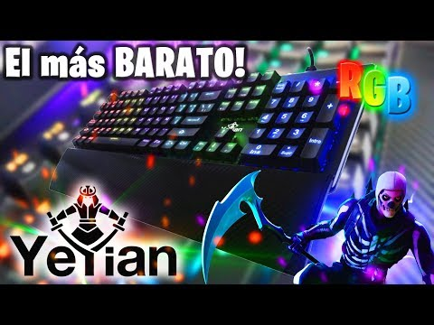 El Nuevo Teclado GAMER RGB Más BARATO Del Mercado!!