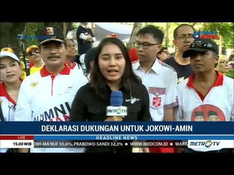 Gerakan Alumni UI Gelar Deklarasi Dukung Jokowi-Maruf Hari Ini