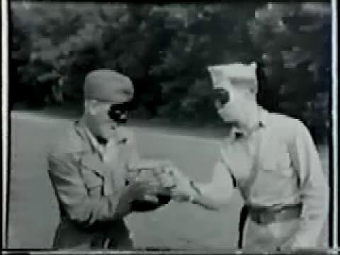 Close Quarter Combat Fairbairn Sykes World War II Footage
