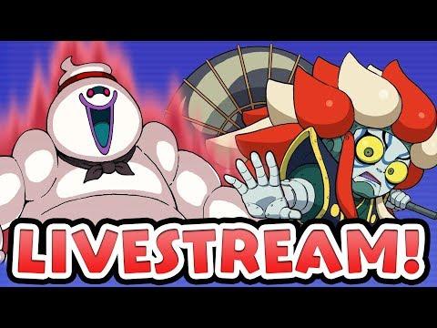 Yo-kai Watch Wibble Wobble — Whismellowman M, Kabukiroid, Melonyan M! Halloween Scramble Livestream