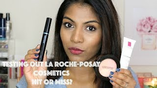 Testing out LA ROCHE-POSAY Cosmetics  ♡ Hit or Miss?!  Foundation, Powder, Bronzer etc| Shuanabeauty