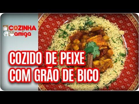 Cozido De Peixe Com Grão De Bico - Raquel Novais | Cozinha Amiga (11/12/17)