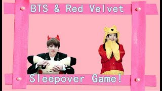 Video BTS & Red Velvet Sleepover Game♥ download MP3, 3GP, MP4, WEBM, AVI, FLV Juni 2018