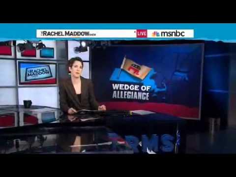 Rachel Maddow on Nebraska Caucus & Massachusetts Delegate Scandal