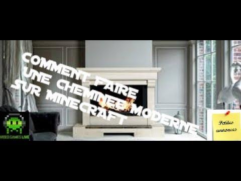 Tuto Comment Faire Une Cheminee Moderne Sur Minecraft Petite