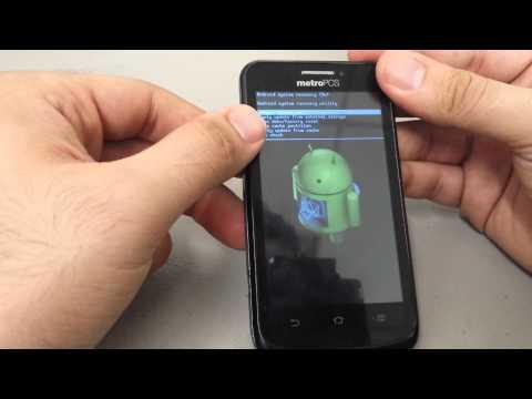 How to Hard Reset Remove Password ZTE Avid 4G Metro PCS