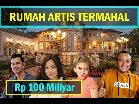 Harga Rumah Artis Indonesia Termahal 2019