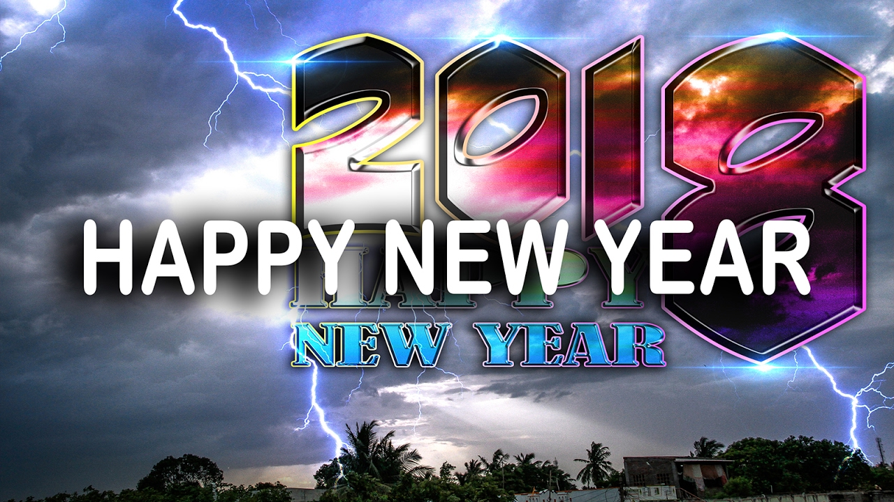 happy new year 2018 hd videos | no copyright free download video ...