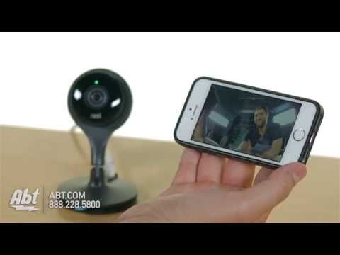Nest Cam Black Indoor Security Camera NC1102ES - Overview
