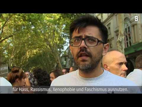 """Barcelona nach dem Anschlag: """"Liebe für alle, Hass für niemanden"""""""