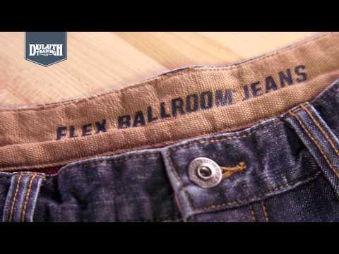 Duluth Trading DuluthFlex® Fleece-Lined Ballroom® Jeans