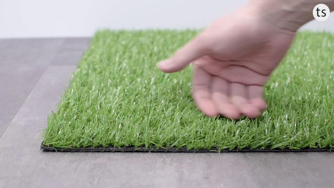 Rasenteppich Flanke Kunstrasen Teppichboden 200 & 400Cm Breite - Youtube