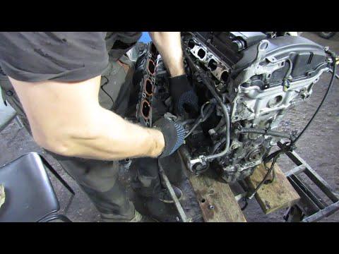 Как разобрать двигатель. Разбираем EP6 150 л.с. Часть 1.