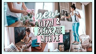 SPRING HOME DECOR AND CLEAN WITH ME!