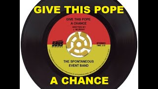 Give This Pope A Chance (Reggae Single)