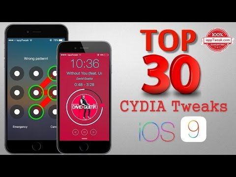 TOP 30 Best Cydia Tweaks & Apps For iOS 9 - 9.0.2 With Pangu 9 Jailbreak