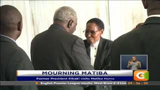 Former President Kibaki visits Matiba Home