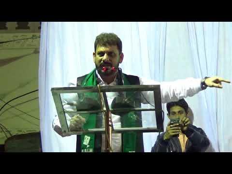 MIM Nandurbar Election Jalsa MLA Waris Pathan Sahab 11-12-2017.