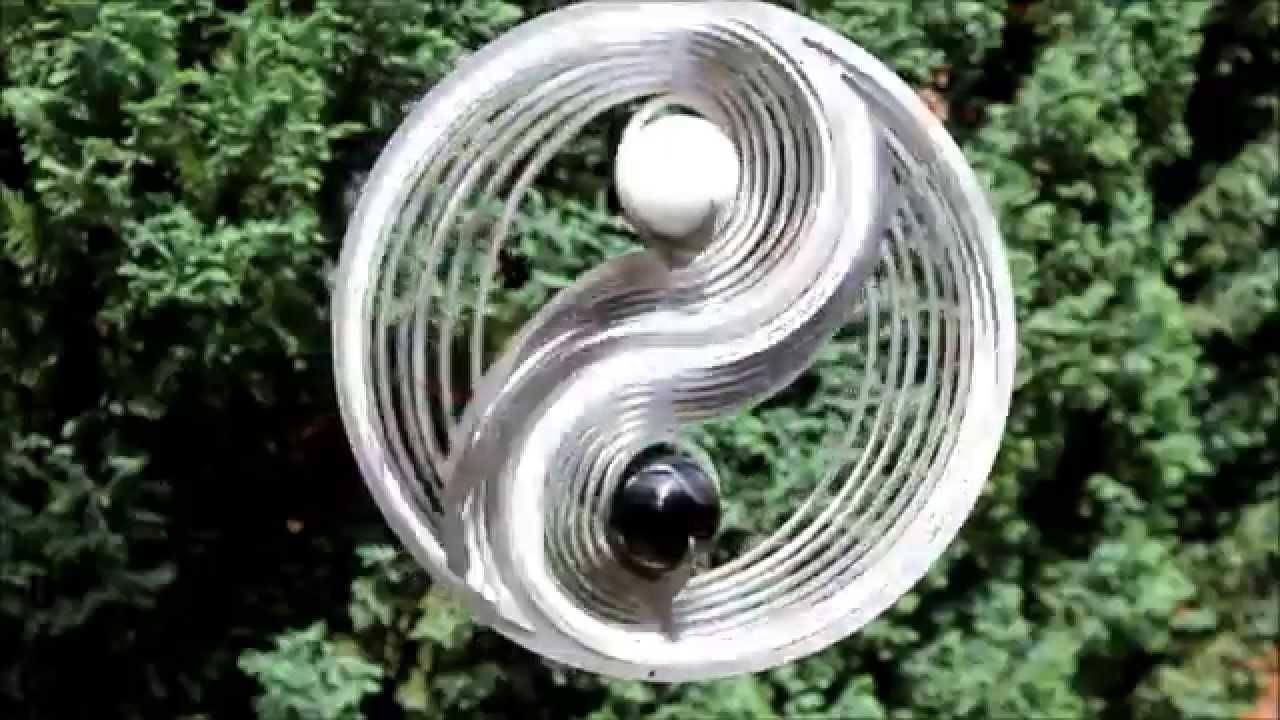 windspiel mobile yin yang youtube. Black Bedroom Furniture Sets. Home Design Ideas