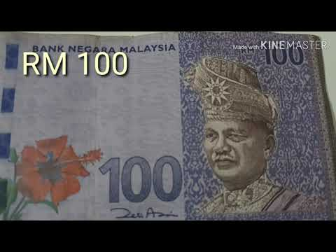 Uang Kertas 100 Ringgit Malaysia / RM 100