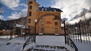 Домбай гостиница сайт отель Меридиан.