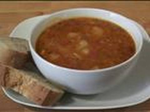 How To Make Potato, Tomato And Rosemary Soup