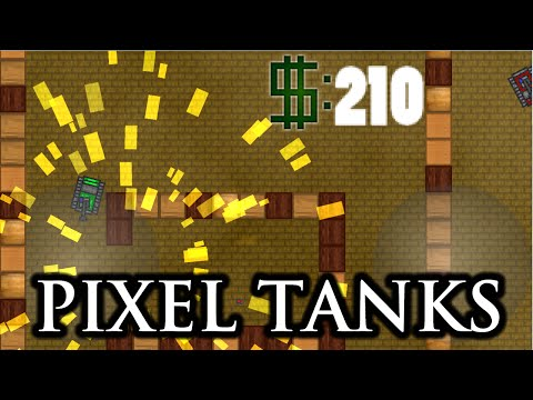 [ANDROID GAME] Pixel Tanks - Battlefield! (BETA)