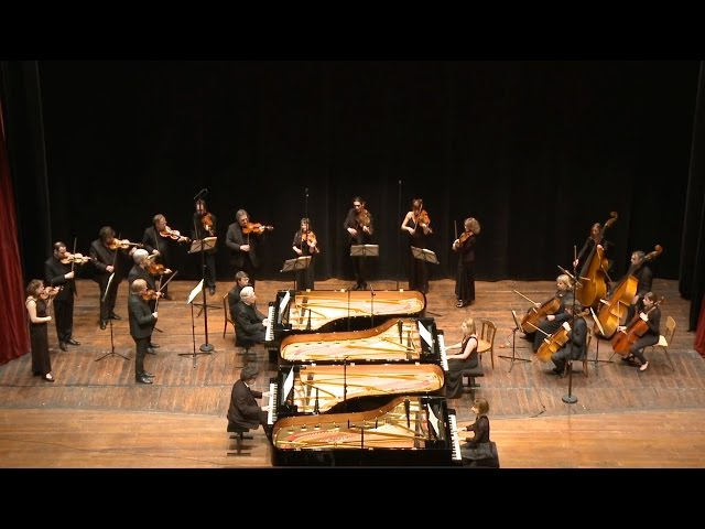 4 pianos, 6 pianistes & l'ORCW