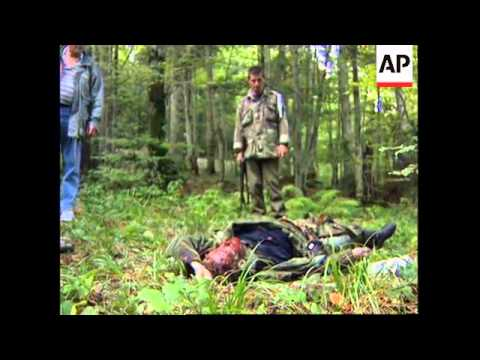 BOSNIA: GOVERNMENT TROOPS CAPTURE BOSNIAN SERB ARMS DEPOT
