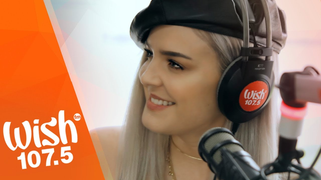 Anne Marie Performs Friends Live On Wish 107 5 Bus