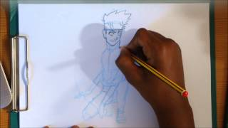 How to draw the guts rasengan: Naruto