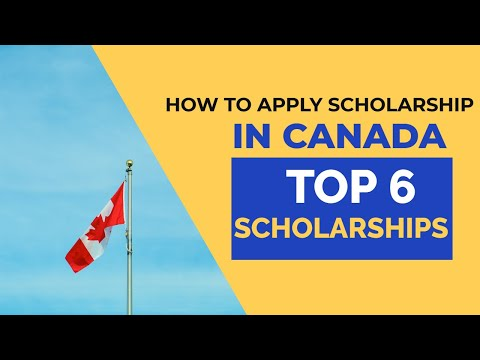 Scholarships In Canada For International Students 2020 | Types Of Scholarships In Canada