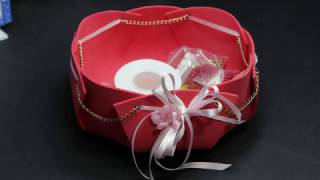 ☼ Svuota Tasche - Centro tavola - senza cuciture - crepla/ fommy o feltro ☼  Centrepieces - 1080P
