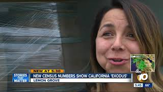 California 'exodus' shown in new census numbers