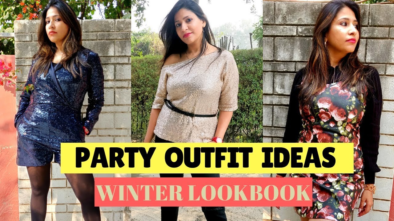 450cc282356a Party Outfit Ideas for Winter | New Years Eve Lookbook | Winter Fashion 2018