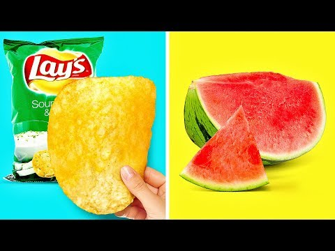 21 FOOD HACKS THAT LOOK LIKE MAGIC