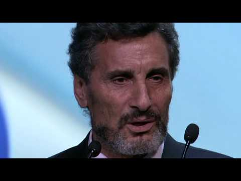 World Entrepreneur Of The Year - Overall winner Mohed Altrad, Altad Group - France