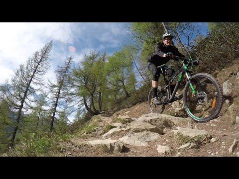 Chamonix (Mont Blanc), mtb riding day 1