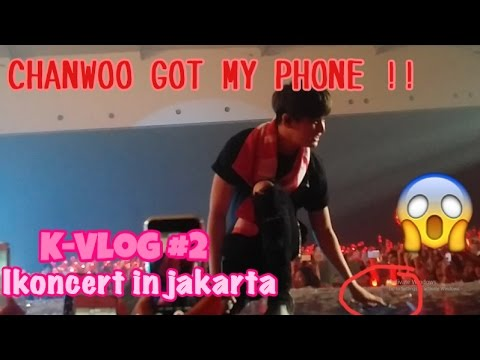CHANWOO GOT MY PHONE! - IKONCERT IN JAKARTA | K-VLOG #2 (ENG SUB)