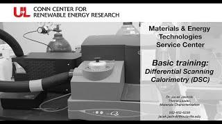 MET Basic Training: Differential Scanning Calorimetry (DSC)