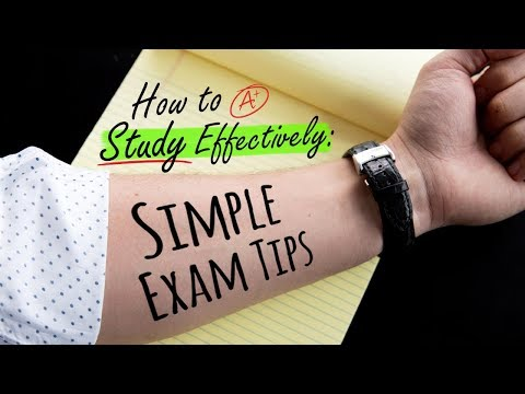 How To Study Effectively Simple Exam Tips
