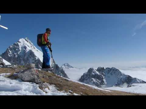 Ski-Transalp von Garmisch nach Meran - Etappe 2