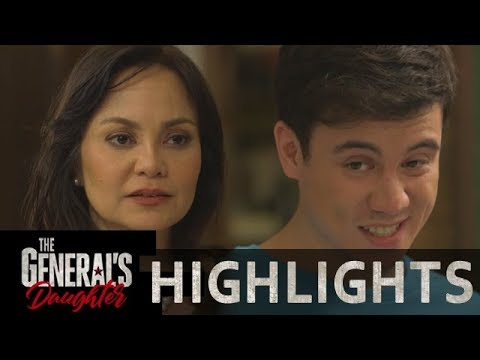 Elai gives Corazon an advice about Rhian   The General's Daughter