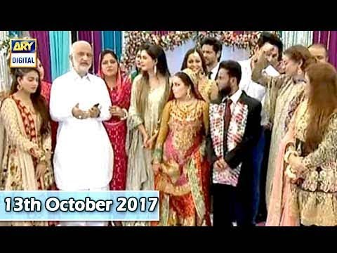 Good Morning Pakistan - Valima - 13th October 2017 - ARY Dig