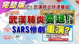 人傳人? 武漢肺炎2死病毒同SARS 疫情凶燒向日.泰? 國民大會 20200117 (完整版)